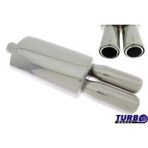 Sport kipufogó dob TurboWorks 40 2,5